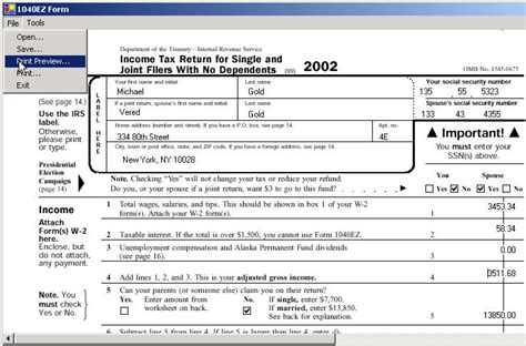 online tax how to fill in your online tax return