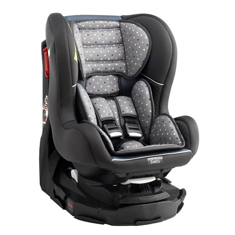 siege auto pivotant aubert groupe 0 1 pivotant delta gris de formula baby siège auto