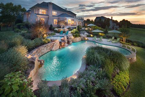 beautiful backyard oasis pools  landscaping