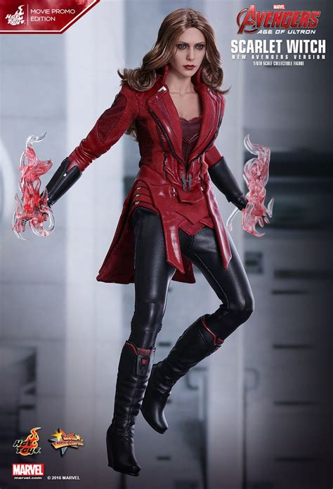 hot toys  marvel avengers mms scarlet witch