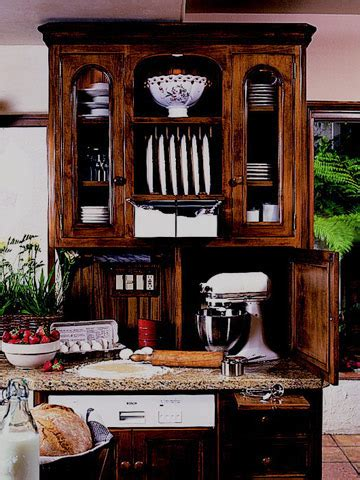 small kitchen appliance storage keep small appliances out of sight 5409