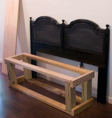 Make A Bench Out Of A Headboard And Footboard by Tutorial On How To Make A Bench Out Of A Headboard I Ve