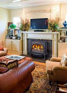 Stove, We, And, Mantels, On, Pinterest