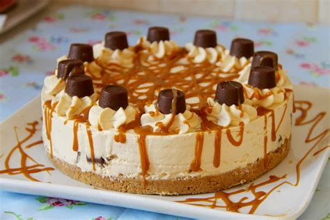 cheesecake vanille  caramel beurre sale sans cuisson
