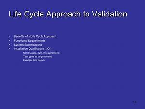 Effective Medical Device Validation Introduction Manual