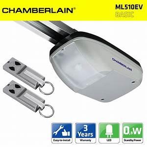 chamberlain ml510ev 500n kit motorisation porte de garage With motorisation porte de garage chamberlain