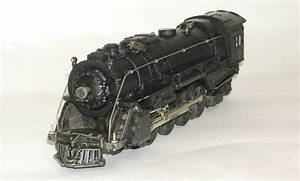 Lionel No  726rr Steam Engine W   2046w Tender Cat  1952