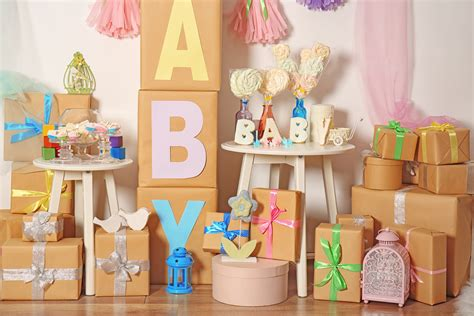 Decorating Ideas For Baby Shower Gift Table by 5 Cheap Unique Baby Shower Decoration Ideas