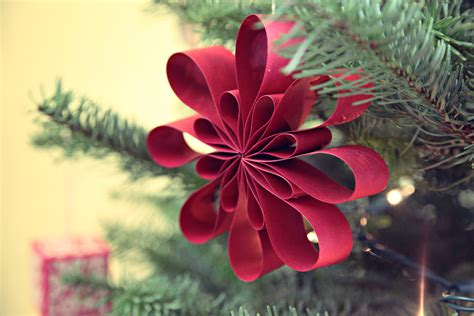 Handmade Paper Decorations Ideas - unify handmade tree handmade ornaments update