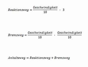 Kmh Berechnen : anhalteweg fahrschule fandom powered by wikia ~ Themetempest.com Abrechnung