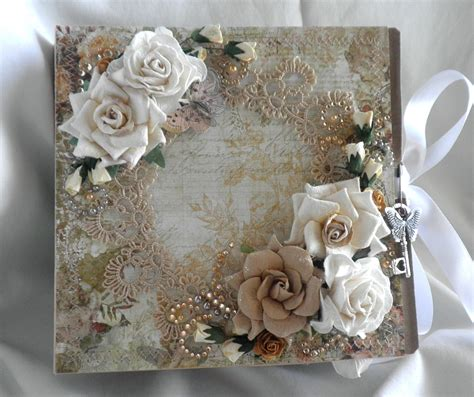 shabby chic crafts shabby chic crafts to make made this beautiful album with paper bags and book binding lace
