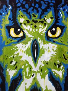 Owl paintings, Painting abstract and Owl on Pinterest