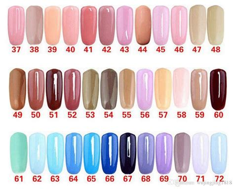 gelish color chart gelish color swatches 2018 my