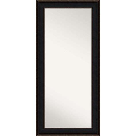 floor mirror espresso 32 inch x 68 inch mezzanine floor mirror in espresso bed