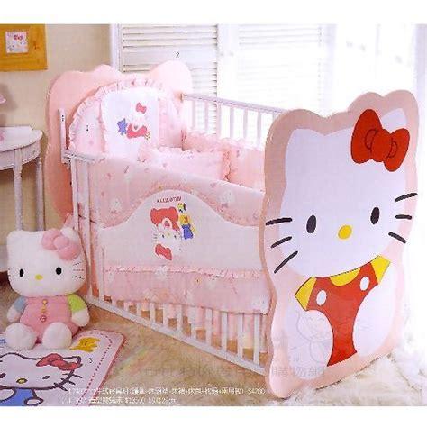 hello kitty crib set baby nursery everything kitty