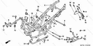 Honda Scooter 2005 Oem Parts Diagram For Frame