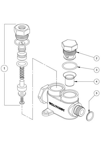 Prison Valve Parts: Willoughby