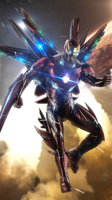 Endgame Wallpaper Iphone Xs Max by Endgame Iron Suit Iphone Wallpaper 1