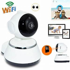 Wireless Smart Home Ip Camera V380 Security 1mp Onvif