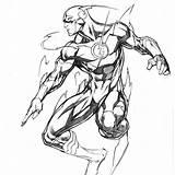 Flash Ale Comic Colorear Garza Dibujos Drawing Marvel Pencil Dc Drawings Superheroes Comics Dibujo Sketches Coloring Deadpool Cartoon Univers Superhero sketch template