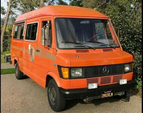 "Both vehicles share the same drivetrain. 1978 Mercedes 207d Tn ""Sprinter"" Campervan - Classic Mercedes-Benz Sprinter 1978 for sale"