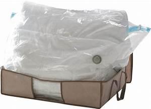 Sac De Rangement Sous Vide Gifi : sac avec housse pour rangement sous vide linge et habits ~ Dailycaller-alerts.com Idées de Décoration