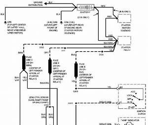 Charging System Schematic 1997 Ford Aerostar