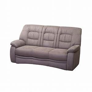 L Sofa Mit Schlaffunktion : 3 sitzer sofa leidas in grau braun ~ Frokenaadalensverden.com Haus und Dekorationen