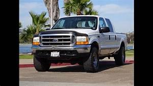 1999 Ford F250 V10 6 8l Gas Crew Cab 4x4 Xlt California