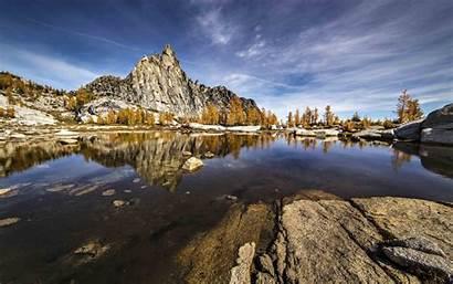 Wilderness Alpine Desktop Enchantments Lakes Prusik Peak