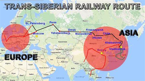Trans-siberian Railway Explained
