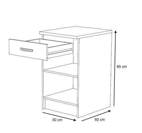 evier cuisine inox 1 bac meuble bas 50 cm grain de sel meuble de cuisine cuisine