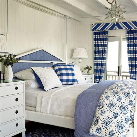 blue  white coastal bedroom soothing beachy bedrooms