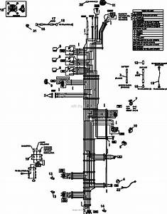 Bunton  Bobcat  Ryan 942612 Xrz Fr730v Kaw W  61 Side Discharge Parts Diagram For Wire Harness