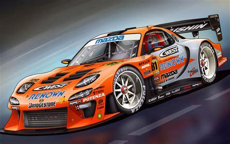 3d Racing Cars Wallpapers by Mazda Racing Car 3d Wallpapers Hd Desktop And Mobile