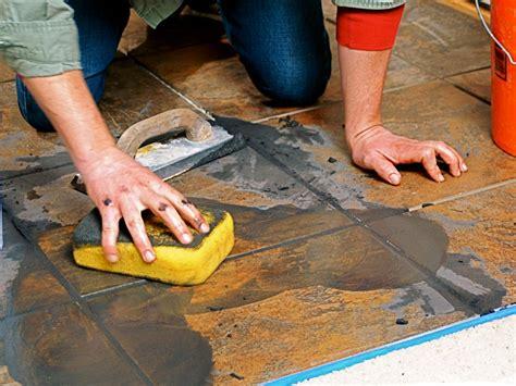 wipe floor laying a new tile floor how tos diy