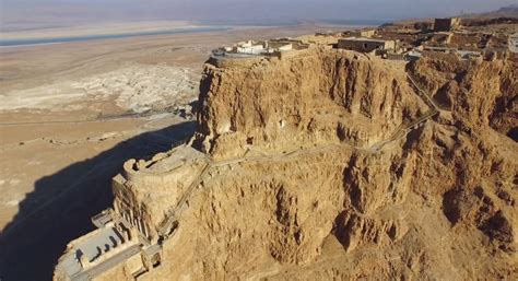 siege planet sushi the ancient fortress of masada as seen from the sky