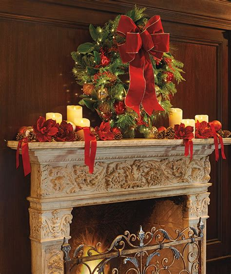 decorating a mantel for christmas 50 gorgeous christmas holiday mantel decorating ideas family holiday net guide to family