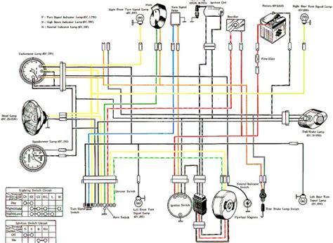 Suzuki Rv 125 Wiring Diagram by Suzuki Ts250 Wiring Diagram Motorcycle Car