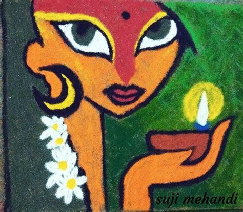 pin  kalpana shah  rangoli easy rangoli designs