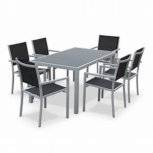 Table Aluminium De Jardin : bien choisir un salon de jardin en aluminium pas cher ~ Teatrodelosmanantiales.com Idées de Décoration