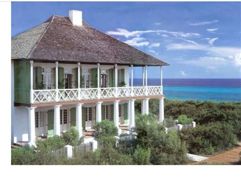 french west indies style home  rosemary beach fl