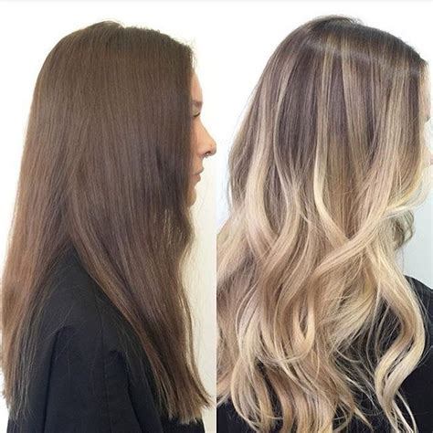 balayage hairstyles  balayage hair color