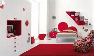 Hogares Frescos Diseos Espectaculares De Habitaciones Rojas
