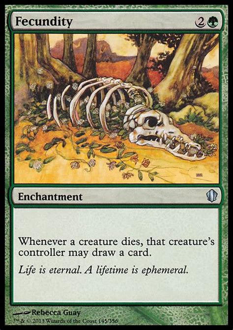 mtg deck tapped out fecundity mtg card