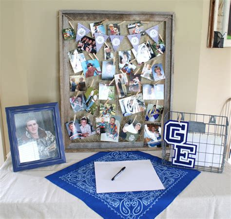 Graduation Table Decorations For Guys by Chelsea Hatfield Country Boy Graduation