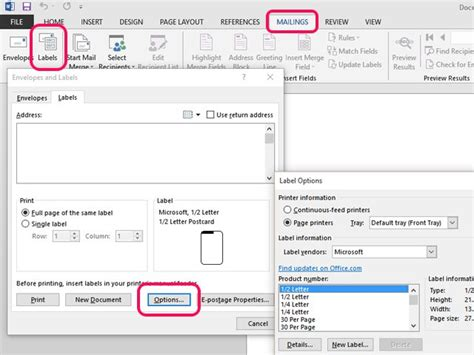 Labels With Ms Word How To Make File Folder Labels In Microsoft Word
