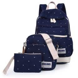 Designers Women Backpack Canvas Backpack for Teenage Girls Female School Backpack mochila Picture Three Piece Suit Bag Preppy