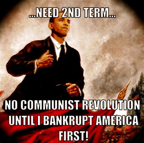 Communist Meme - no deal for obama s credit card renewal 22moon com
