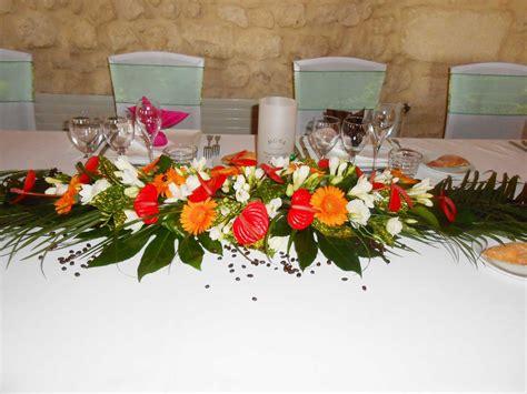 une decoration florale de mariage exotique mariage en